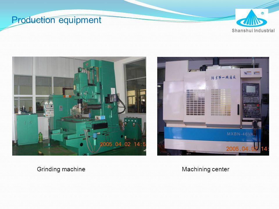 Grinding machineMachining center Shanshui Industrial Production equipment