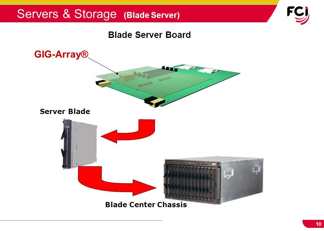 10 Server Blade Blade Center Chassis Blade Server Board GIG-Array® Servers & Storage (Blade Server)