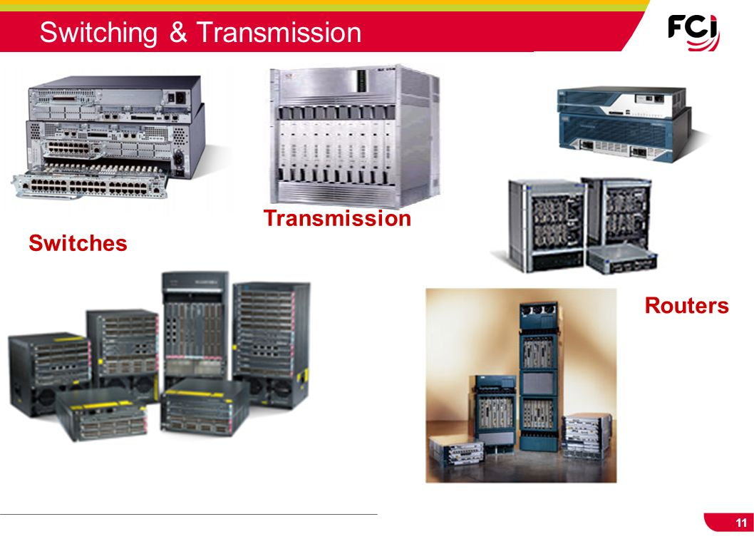 11 Switching & Transmission Switches Transmission Routers