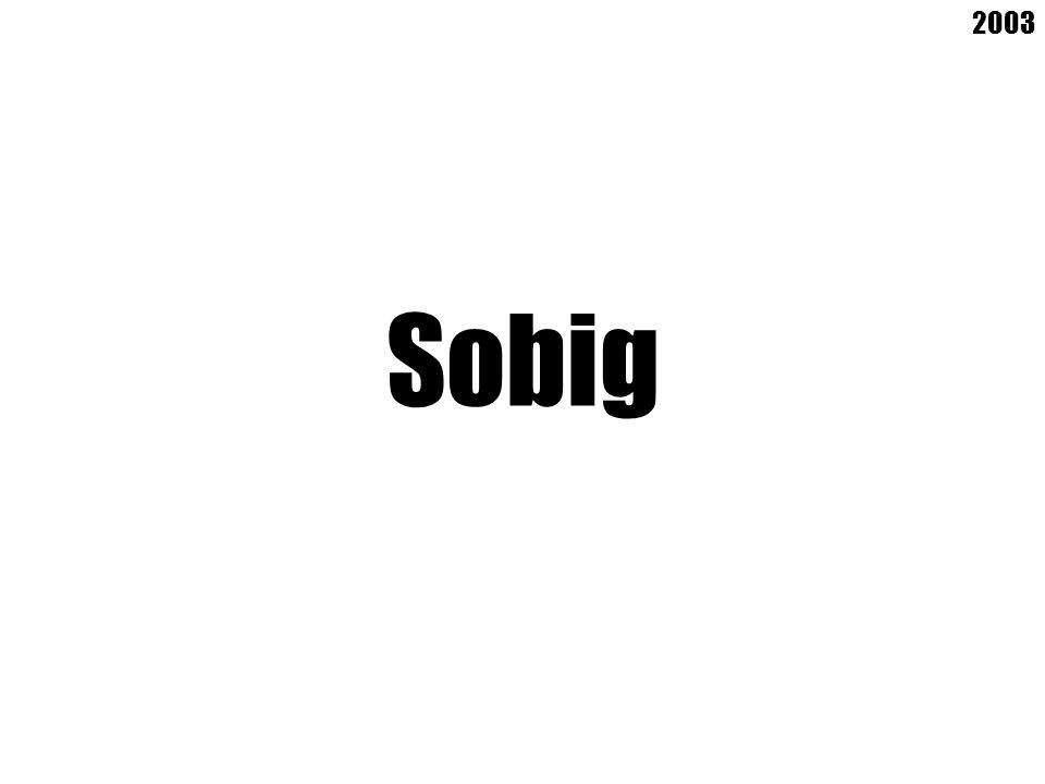 Sobig 2003