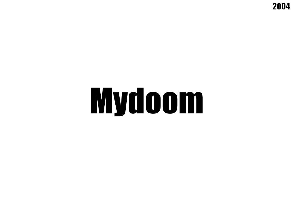 Mydoom 2004