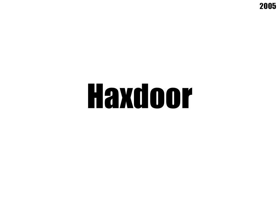 Haxdoor 2005