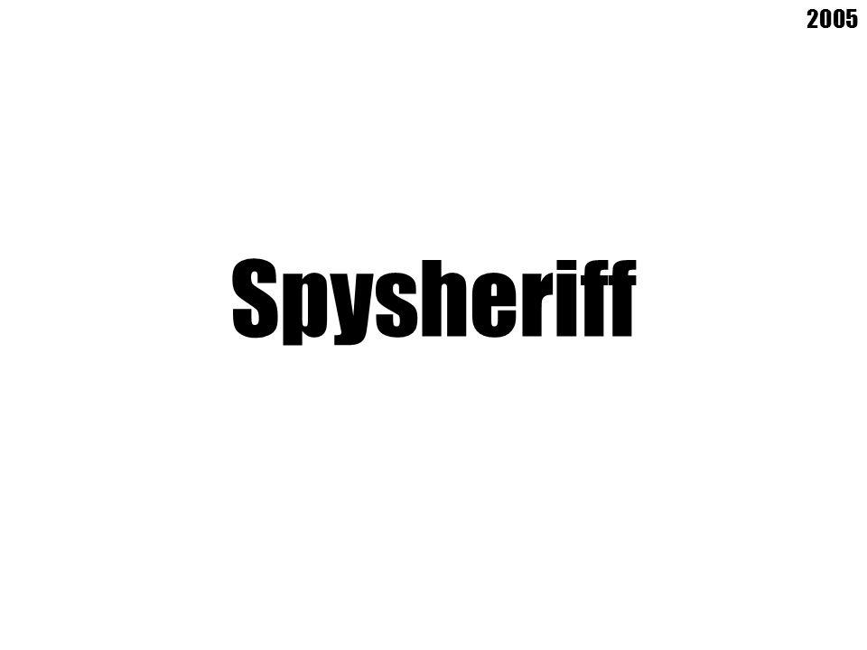 Spysheriff 2005