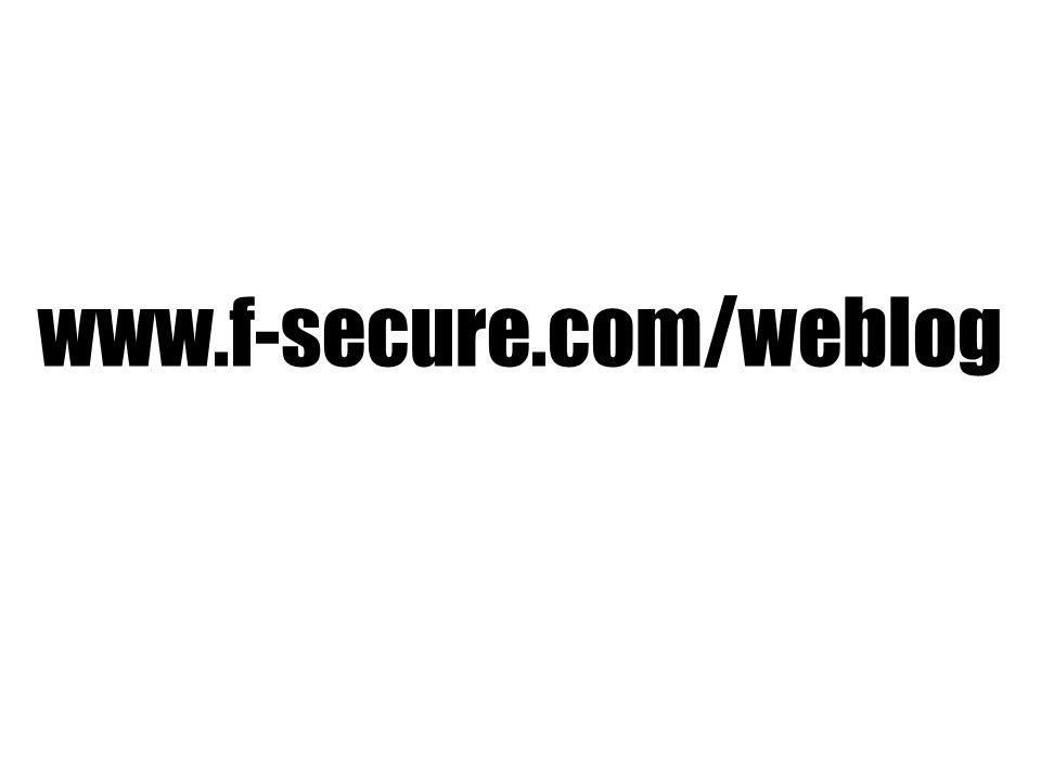 www.f-secure.com/weblog