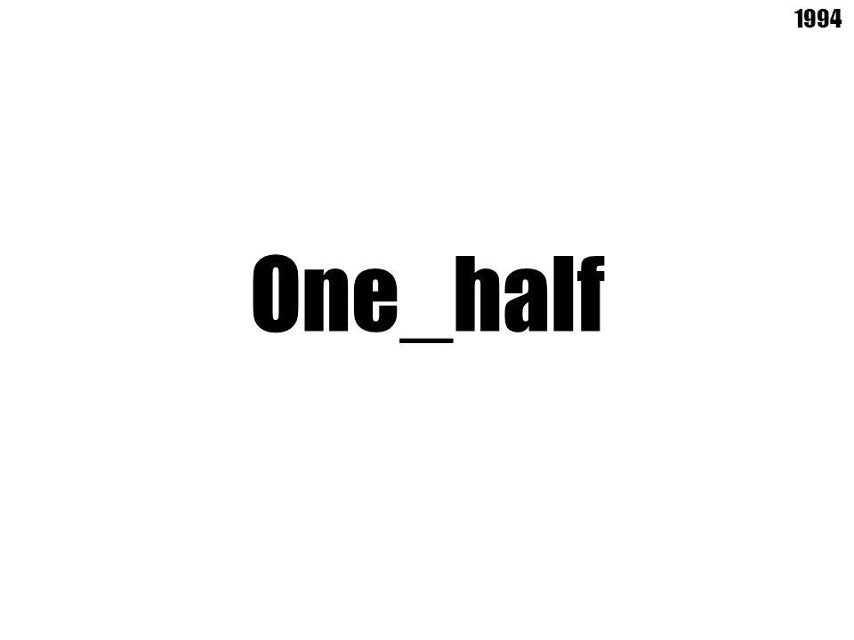One_half 1994