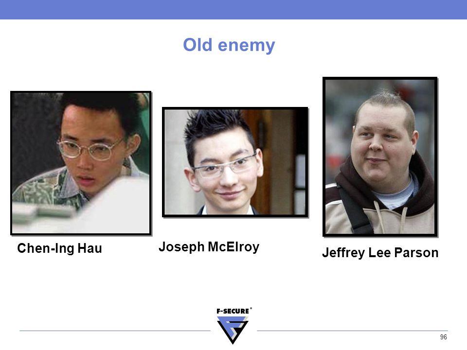 96 Old enemy Chen-Ing Hau Joseph McElroy Jeffrey Lee Parson