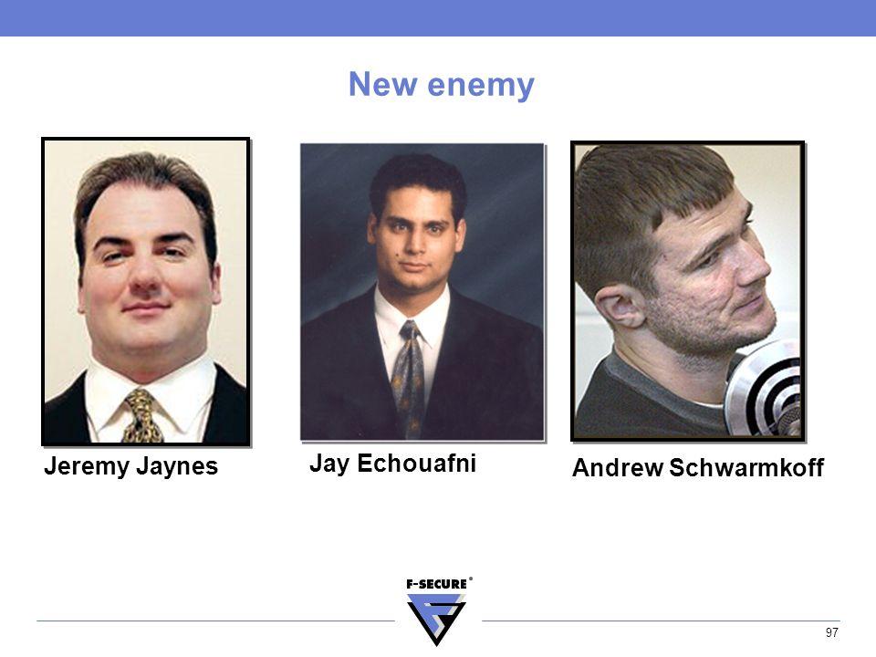 97 New enemy Jeremy Jaynes Jay Echouafni Andrew Schwarmkoff