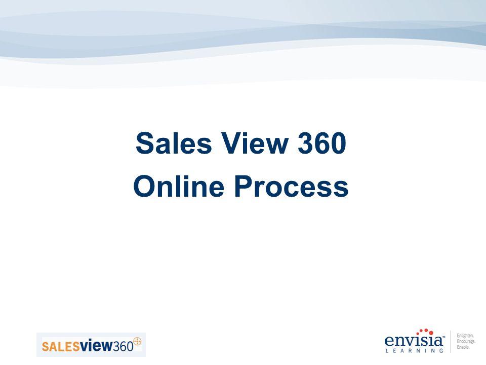 Sales View 360 Online Process