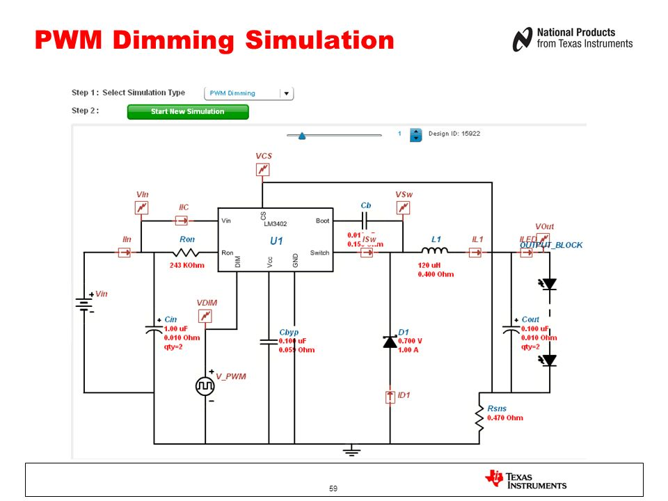PWM Dimming Simulation 59