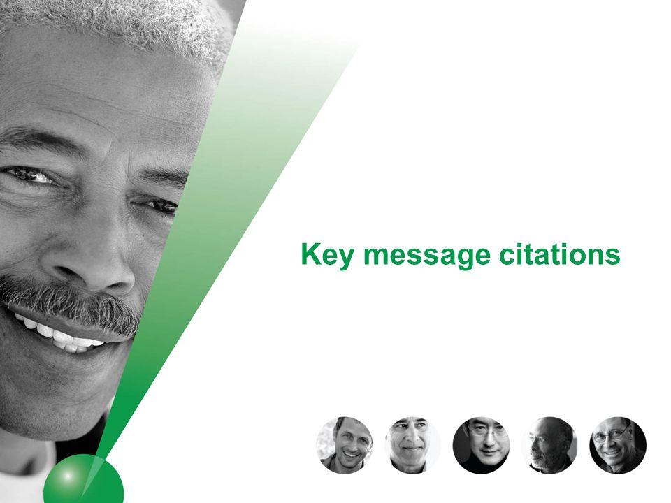 Key message citations