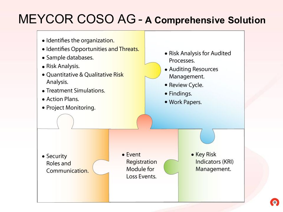 With Meycor COSO AG you can define and manage Action Plans to improve controls.