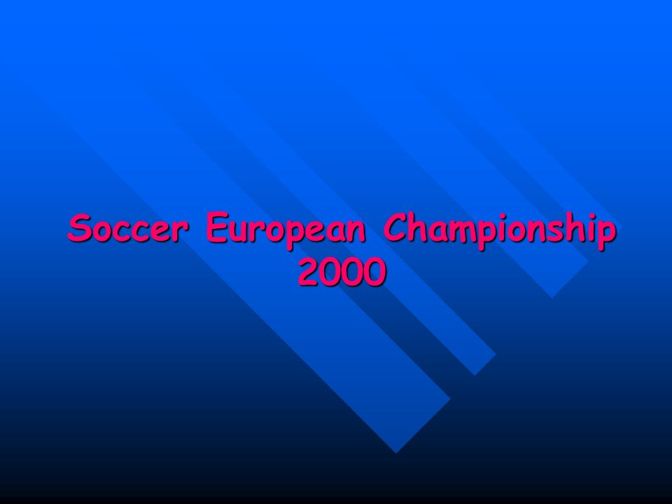 Soccer European Championship 2000