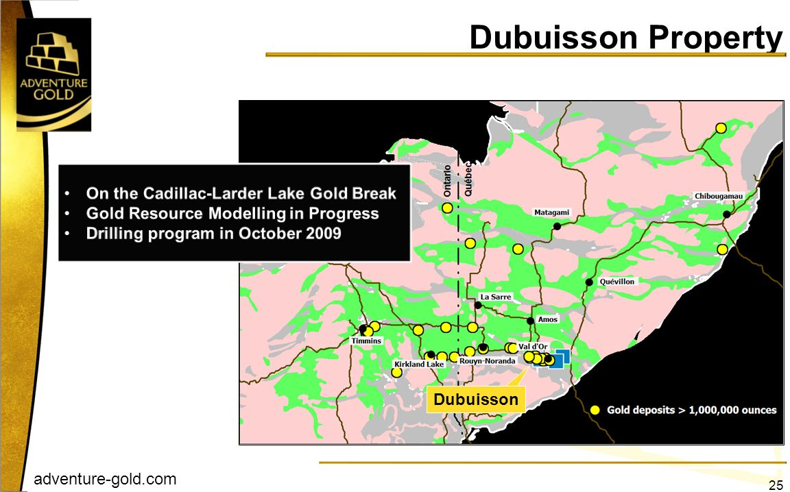 adventure-gold.com Dubuisson Dubuisson Property 25