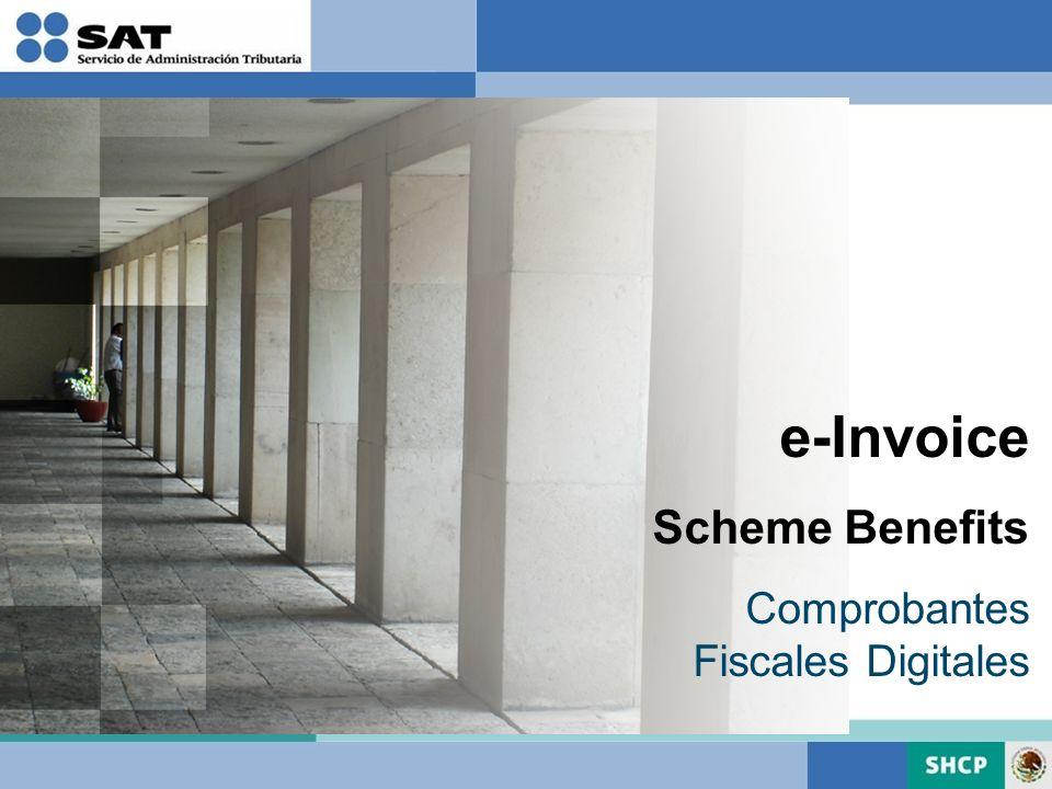 e-Invoice Scheme Benefits Comprobantes Fiscales Digitales