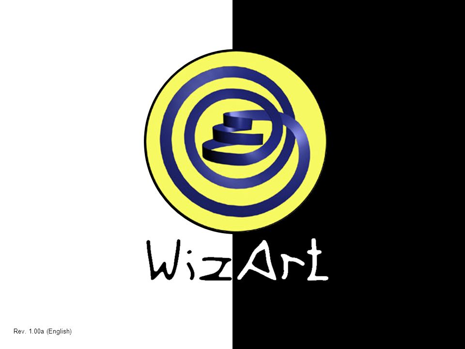 WizArt Rev. 1.00a (English)