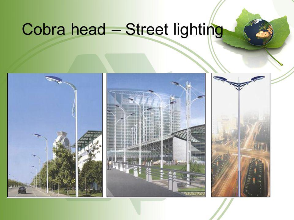 Cobra head – Street lighting