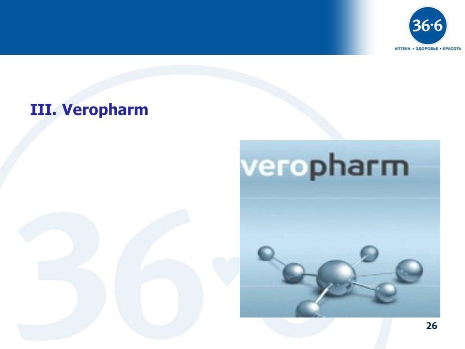 26 III. Veropharm 26