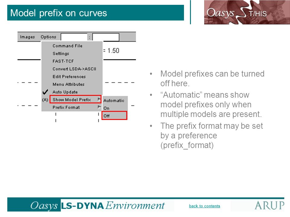 back to contents Model prefix on curves Model prefixes can be turned off here. Automatic means show model prefixes only when multiple models are prese