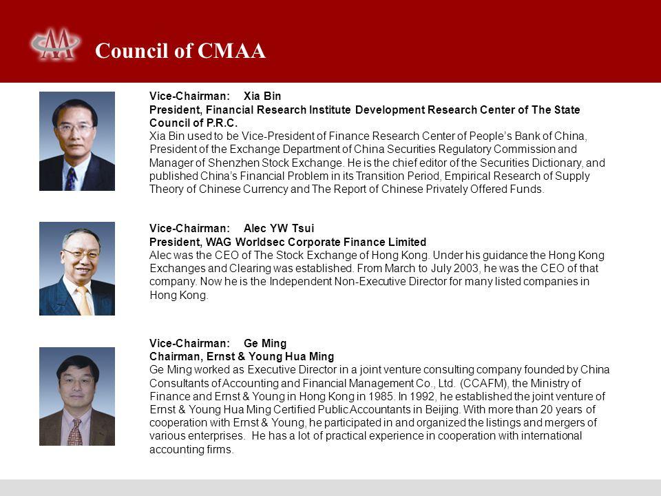 Executive Director: Sun Yuehuan Chairman and CEO, China Enterprise Appraisals Co., Ltd.