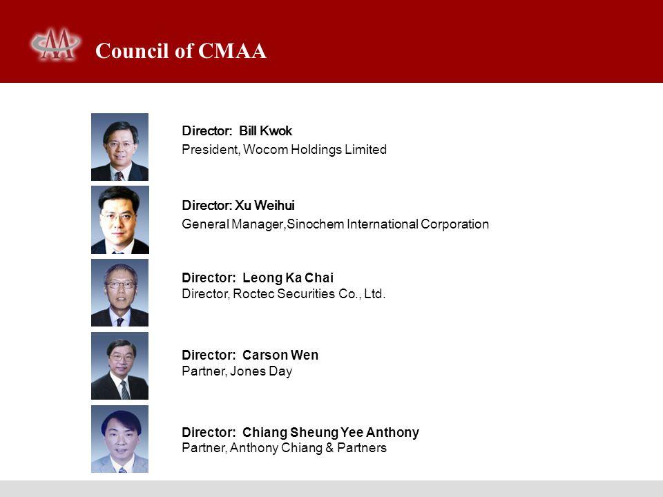 Senior Members of CMAA Secretariat Vice-Secretary General Guo Tianjue [ gtj@mergers-china.com ] Vice-Secretary General Gu Ningke [ nickgu@mergers-china.com ] Assistant of Chairman Ma Weijing [ mwj@mergers-china.com ]