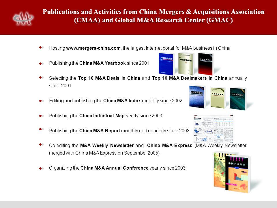 China M&A Express China M&A Express is Chinas leading M&A focused publication.