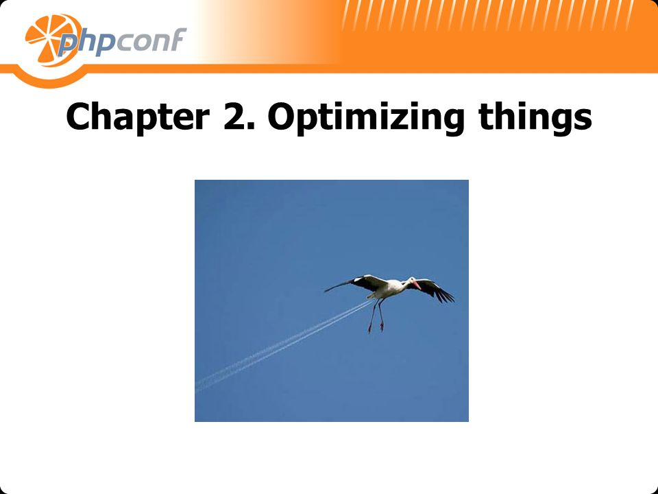 Chapter 2. Optimizing things