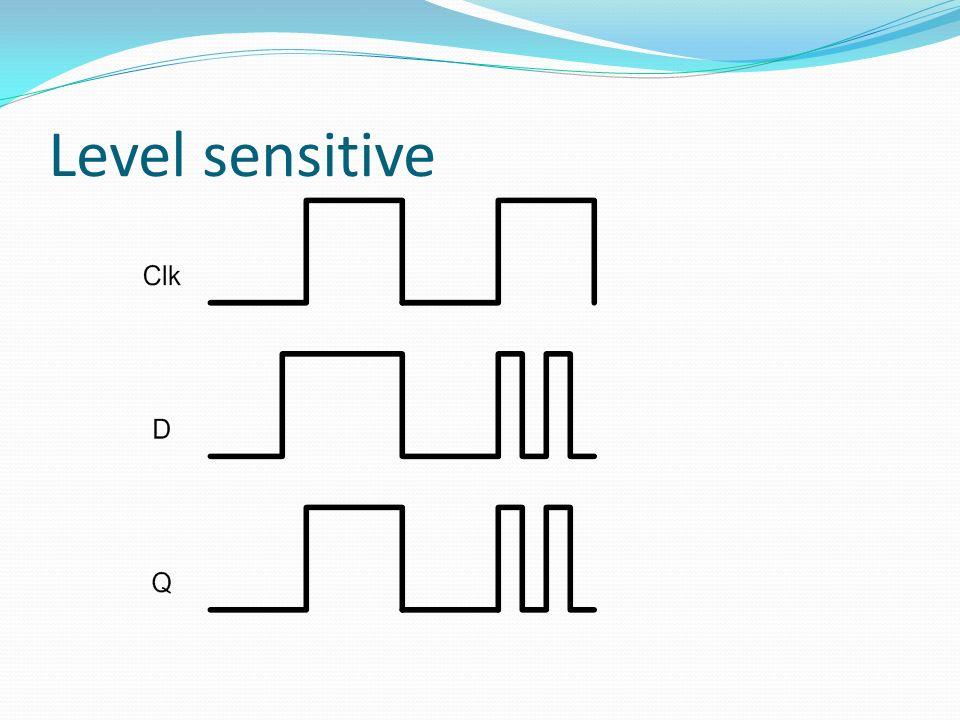 Level sensitive