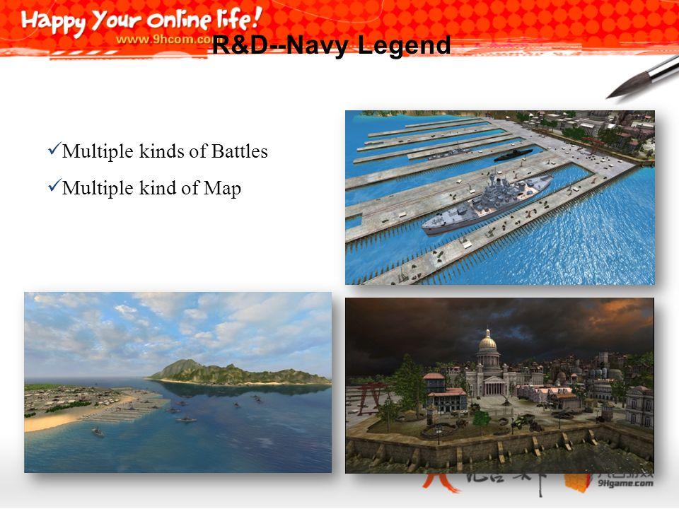 Multiple kinds of Battles Multiple kind of Map R&D--Navy Legend