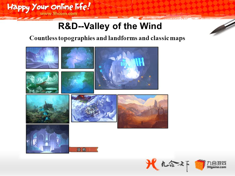 Countless topographies and landforms and classic maps R&D--Valley of the Wind