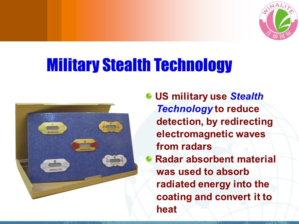 Military Stealth Technology US military use Stealth Technology to reduce detection, by redirecting electromagnetic waves from radars Radar absorbent m