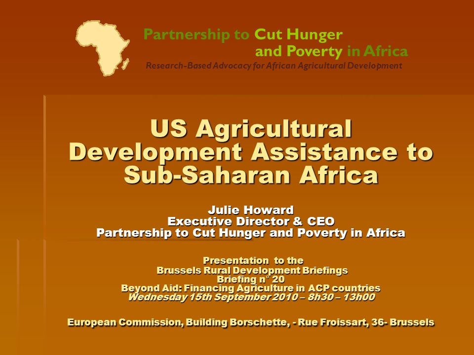 About the Partnership About the Partnership Reports on US Agricultural Development Assistance Reports on US Agricultural Development Assistance Scope & Methods Scope & Methods Findings: Trends in US Assistance Findings: Trends in US Assistance Key Issues in Monitoring Agricultural Development Assistance Key Issues in Monitoring Agricultural Development Assistance Evolution of US Assistance Toward a Demand-Driven Approach Evolution of US Assistance Toward a Demand-Driven Approach Challenges in Implementing Demand-Driven Programs and Priorities for Action Challenges in Implementing Demand-Driven Programs and Priorities for Action Conclusions Conclusions Outline