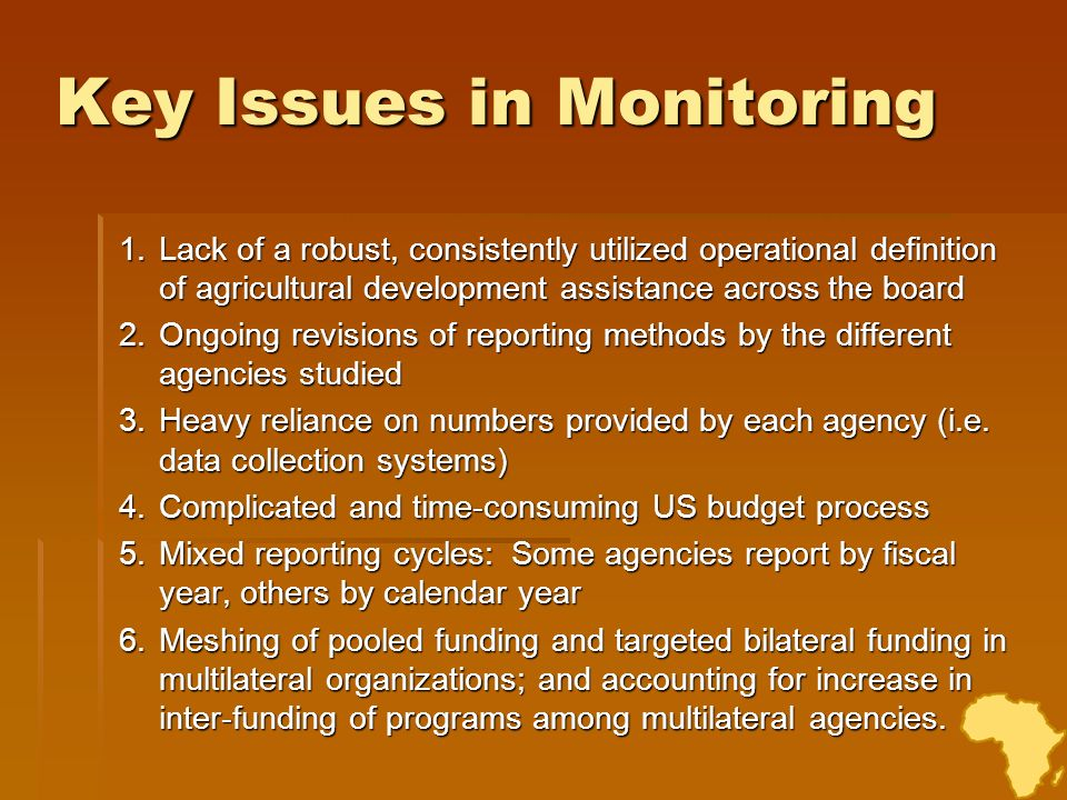 Improving Metrics and Accountability A shared commitment to expanded monitoring, analysis, evaluation and learning (M&E +) is essential to facilitate transparency, accountability, and trust among partners and to ensure that implementing organizations become learning organizations.