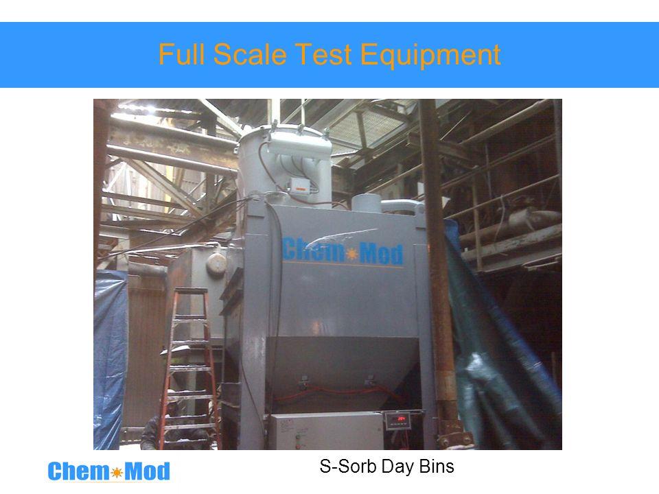 Full Scale Test Equipment S-Sorb Day Bins