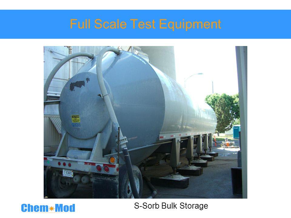 Full Scale Test Equipment S-Sorb Bulk Storage