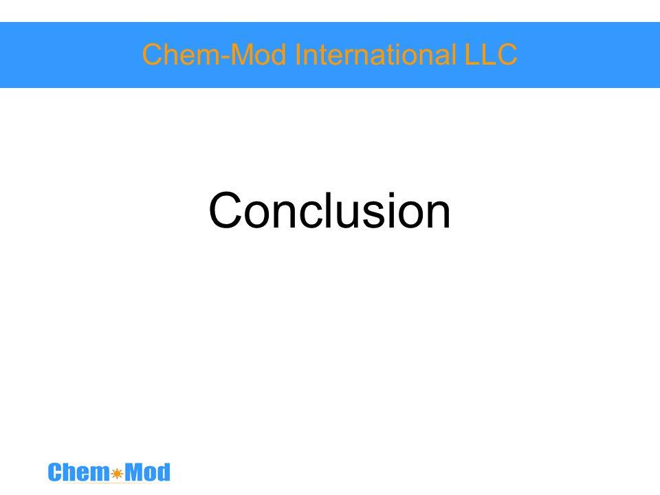 Chem-Mod International LLC Conclusion