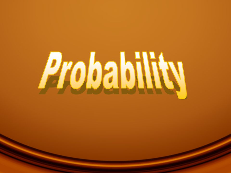 Learning Objectives In this chapter you will learn the basic rules of probability about estimating the probability of the occurrence of an event the Central Limit Theorem how to establish confidence intervals