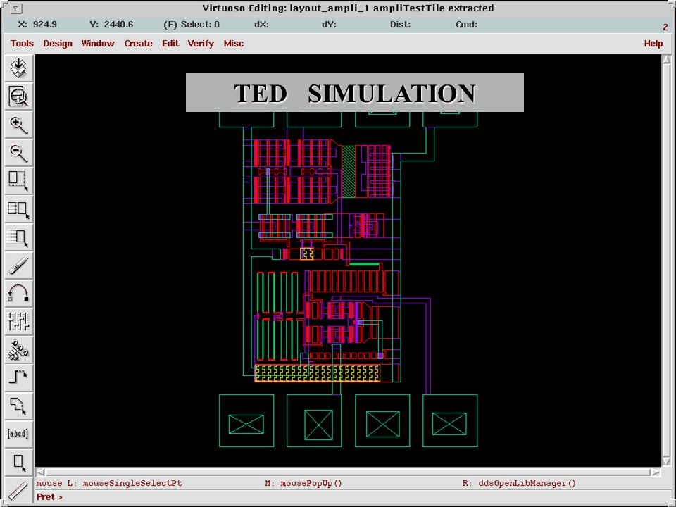 TED SIMULATION