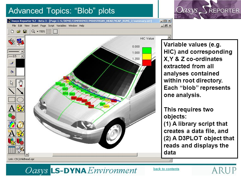 back to contents Advanced Topics: Blob plots Variable values (e.g.