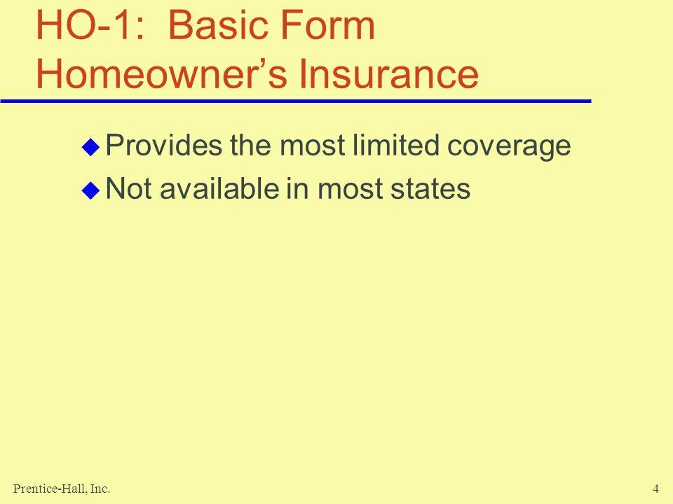 Prentice-Hall, Inc.45 Buying Automobile Insurance Determinants of the cost of automobile insurance Keeping your costs for automobile insurance down