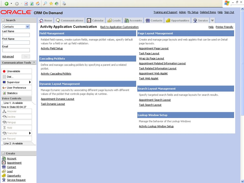 © 2008 Oracle Corporation – Proprietary and Confidential 10 Demo Tip: Example Screenshot