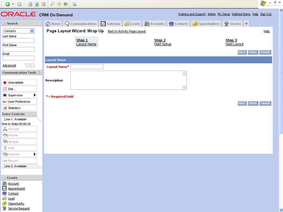 © 2008 Oracle Corporation – Proprietary and Confidential 12 Demo Tip: Example Screenshot