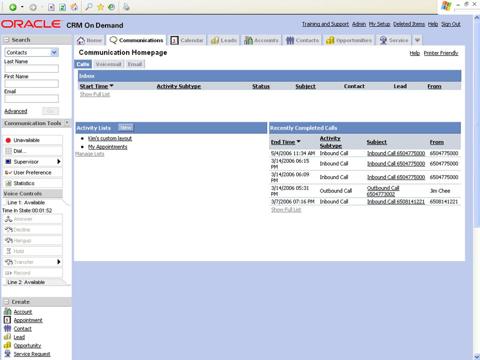 © 2008 Oracle Corporation – Proprietary and Confidential 7 Demo Tip: Example Screenshot