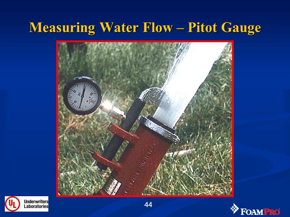 44 Measuring Water Flow – Pitot Gauge