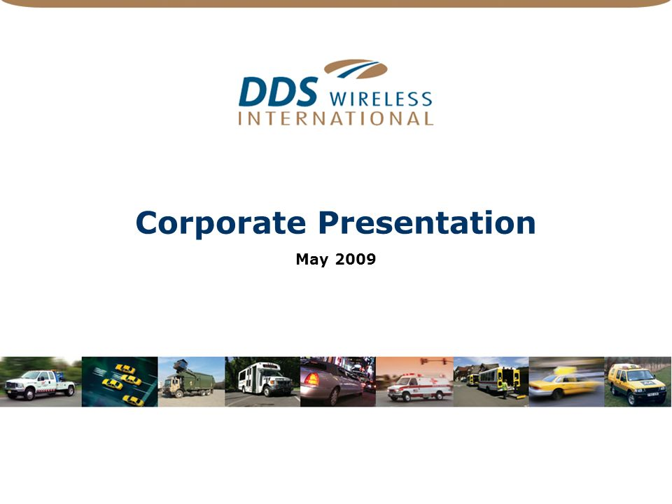 Corporate Presentation May 2009