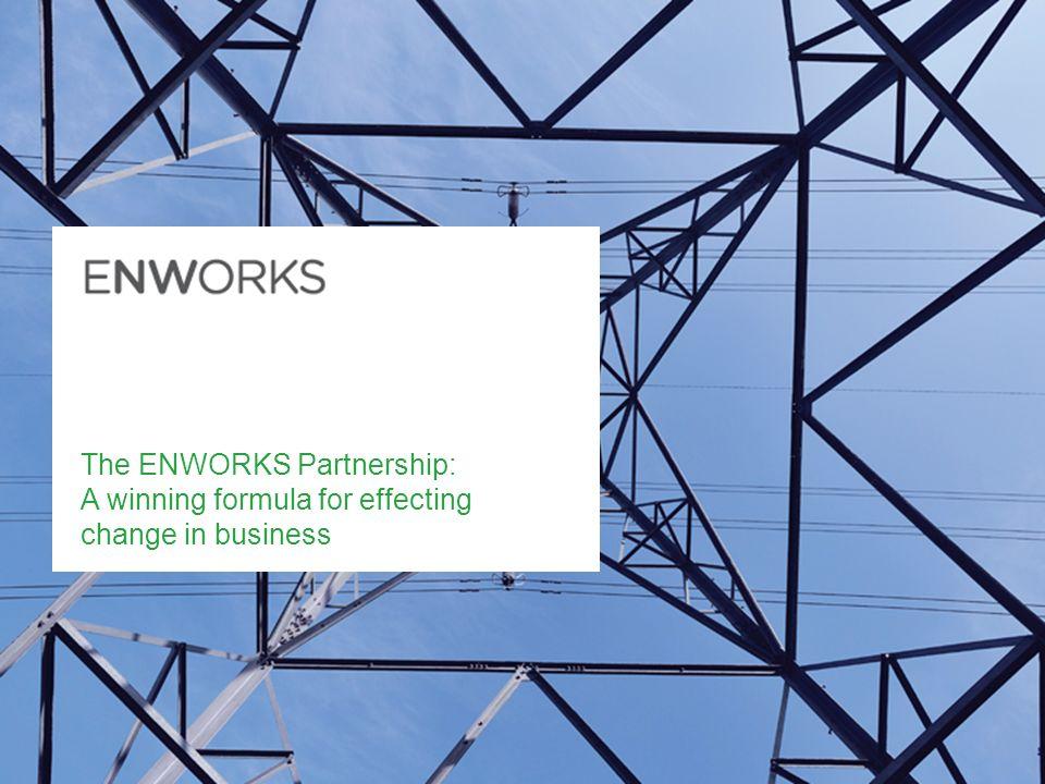 The ENWORKS Partnership: A winning formula for effecting change in business