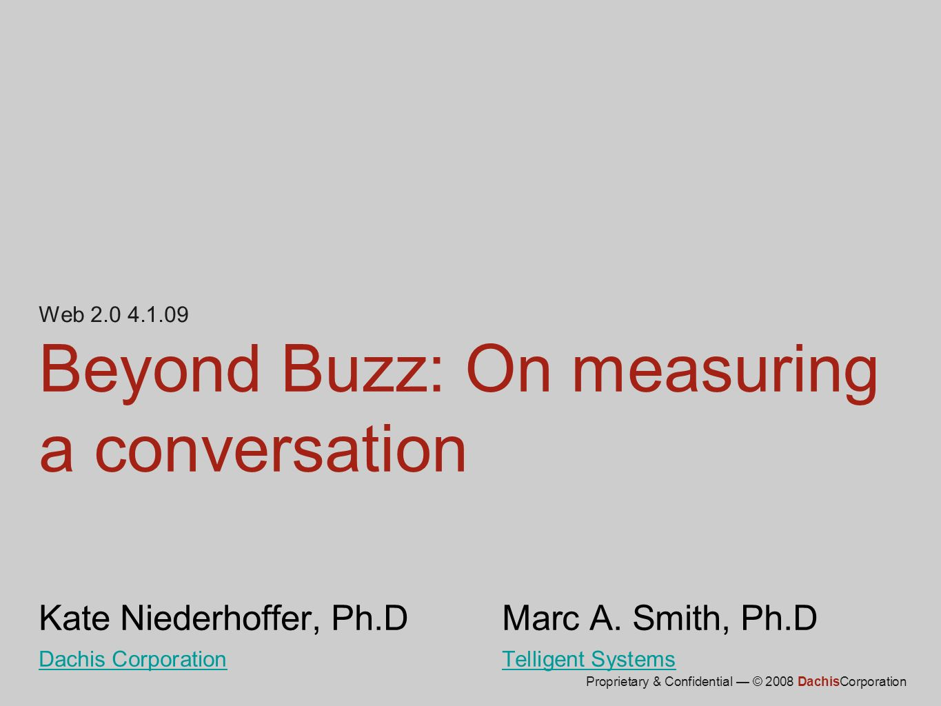12 Context of a conversation Relevance Role Mindset Ecosystem Wheres the signal in the noise?