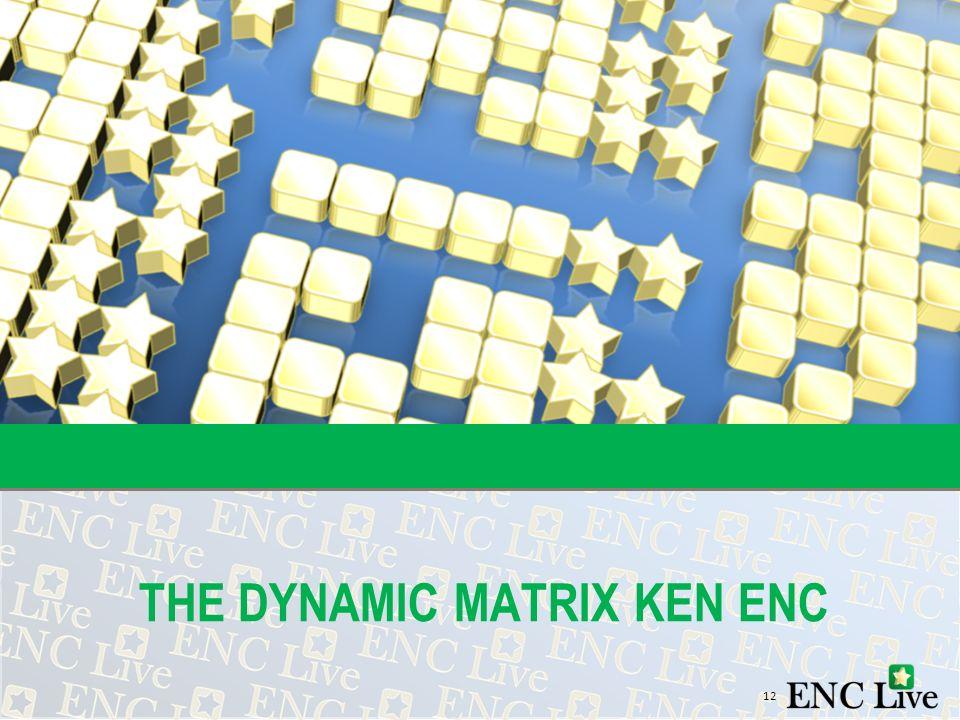 12 THE DYNAMIC MATRIX KEN ENC
