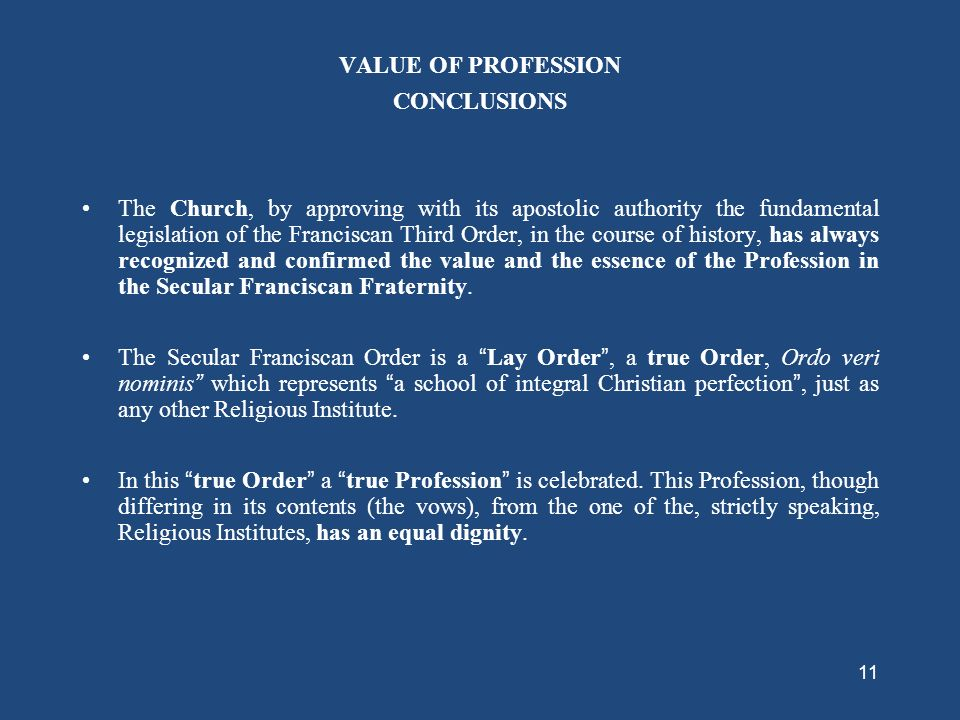 10 The primitive legislation of the Franciscan Third Order and the basic elements of the Profession of the Brothers and Sisters of Penance as compared
