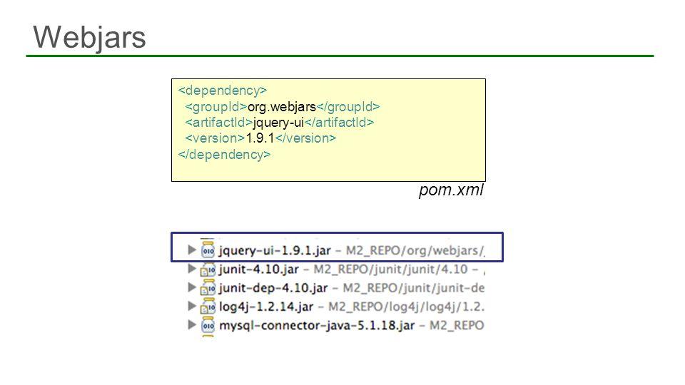 org.webjars jquery-ui 1.9.1 pom.xml