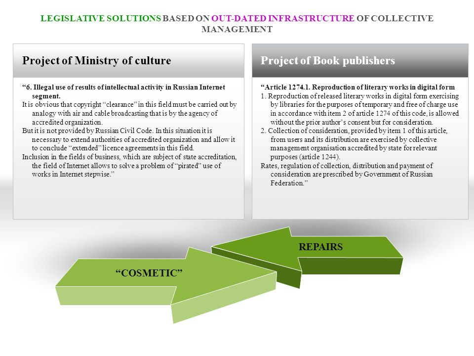 Project of Ministry of culture 6.